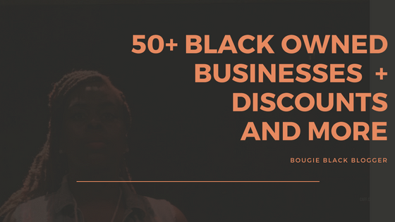 50+ Black Owned Business Directory + Discounts and More