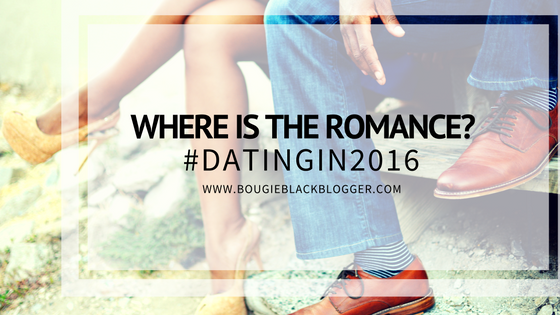 Where is the Romance? Dating in 2016