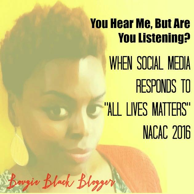 When Speaking Out Gets Heard! NACAC 2016