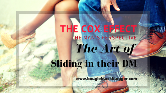 The Cox Effect: The Art of Sliding in their DM